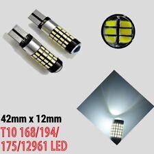 T10 T15 W5W 921 168 194 2825 12961 White 54 LED Reverse Backup Light Canbus B1 A