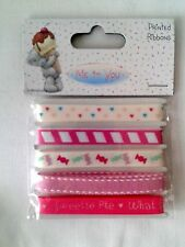 Dovecraft Me to You Tatty Teddy Sweet Shop Ribbon Pack 5 Metres in Total