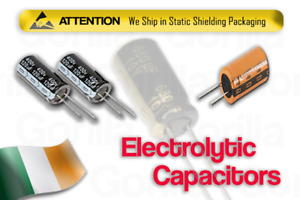 NEW Electrolytic Radial Capacitors Various ESR Voltage High Quality