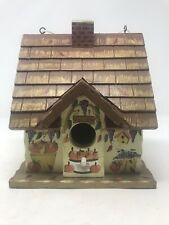 Kathy Hatch Bird House Fall Theme Hand Painted Pumpkin Pies Country Kitch