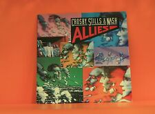 CROSBY STILLS & NASH - ALLIES - ATLANTIC 1983 W/LINER *NM* VINYL LP RECORD (1)