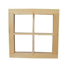 4 Riquadro finestra/telaio, Casa delle Bambole Miniatura Fai Da Te Impianto & ACCESSORI SCALA 1.12