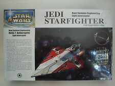 2002 Fine Molds Sealed 1/72 Star Wars Jedi Starfighter with hyperdrive ring.