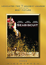 Seabiscuit DVD Tobey Maguire NEW