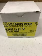 "1"" Sanding Discs PSA Klingspor-NEW 240 grit self stick 50pcs"