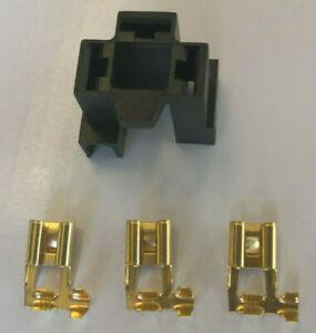 H4 Anschluss Stecker Fassung Sockel Lampensockel P43t Auto KFZ Crimp Kontakte
