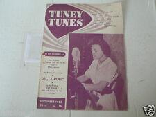 1953 NO 116 TUNEY TUNES MUSIC KAY STARR COVER,GARY COOPER,VAN PRAAG MAX EN JOOP,