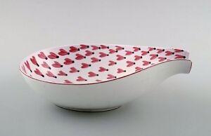 Stig Lindberg bowl, Gustavsberg studio. Fajance. 1940s.