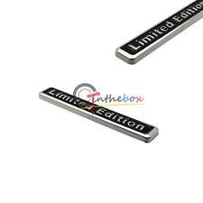(1) 3D Metal LIMITED EDITION Car Auto Rear Lid Fender Trunk Sticker Emblem