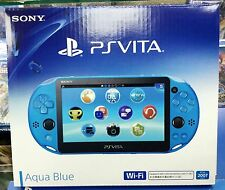 SONY PS Vita PlayStation Vita  Latest Model PCH-2007 Aqua Blue