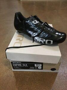 Giro Slx Road Shoe Black New In Box Size Us 10.5, EU 44cm