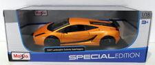 Véhicules miniatures orange pour Lamborghini 1:18