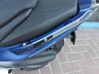 2 ADESIVI 3D PROTEZIONE MANIGLIE compatibili per scooter kymco XCITING S 400 i