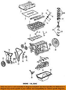 Saturn GM OEM 91-02 SL2-Engine Cylinder Head Gasket 21009431