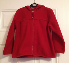 H&M girls red fleece height 110 cm (age 5 years)