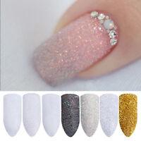 Hot Bling Holographic Nail Art Powder Sugar Glitter Dust Manicure Decoration DIY