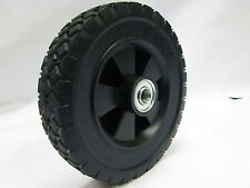 """8"""" X 1.75"""" Solid Rubber Wheel FOR GENERATOR -  HAND CART - ETC...."""