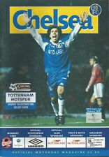 Football Programme - Chelsea v Tottenham Hotspur - Premiership - 19/12/1998