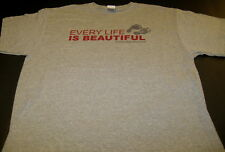 October Baby Every Life Is Beautiful 2012 Movie Theater Christian T-Shirt New Xl
