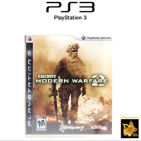 Call of Duty Modern Warfare 2 Playstation 3 with Case & Manual Tested Works A+