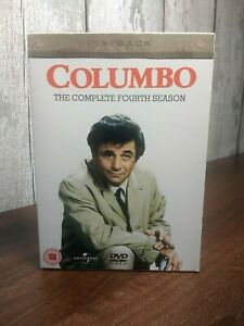 COLUMBO The complete 4th Fourth season DVD Boxset 3 Disc Box Set