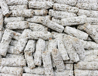 "Bulk White Sage Smudge Sticks at Wholesale Cost 100 White Sage Smudge Wands (4"")"