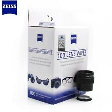 100ct Pack Zeiss Pre-moistened Lens Wipes Cleaning for Eye glass Lenses Sunglass