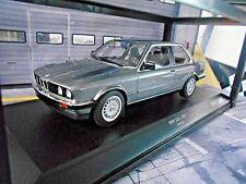 BMW 3er 3 er Series 323i E30 Limousine grau grey 1982 Minichamps RAR  1:18