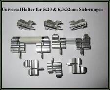 Fuse Clips Sicherungshalter Universal 5x20 & 6,3x32mm 16A 600V 10 Stück