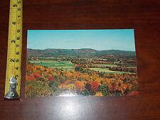 Postcard Old Vintage Greenfield Valley Longview Mohawk Trail Massachusetts