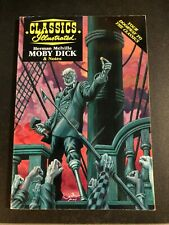 Classics Illustrated MOBY DICK Herman Melville - Acclaim 1997 with study guide