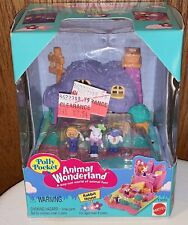 Vintage Mattel Bluebird Polly Pocket Animal Wonderland Rabbit House NEW 13859