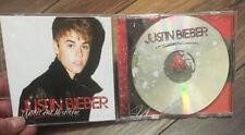Under The Mistletoe by Justin Bieber CD Original Artwork & Jewel Case