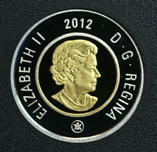 2012 Canada Special edition Toonie from War of 1812 set pure silver proof finish