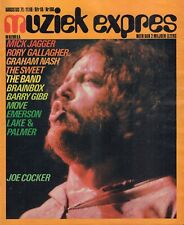 MAGAZINE MUZIEK EXPRES 1971 nr. 188 - JOHN LENNON/MICK JAGGER/RORY GALLAGHER