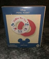 Junk Food Mickey Mouse Follow the Sun Inflatable Ring T52