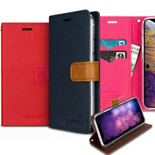 Slim Flip Saffiano wallet Case Cover for Apple iPhone 11 /XS MAX/XR/X/8/7/6 Plus