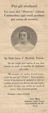 Y2910 PROTON - Lina Rossi - Parma - Pubblicità del 1928 - Old advertising