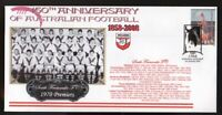 150th ANNIV OF AUSTRALIAN FOOTBALL COVER, SOUTH FREMANTLE FC 1970 WAFL PREMIERS