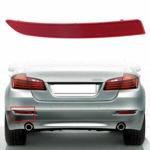 Left Red Lens Rear Bumper Reflector Marke Light for BMW 5 Series F10 F18 14-17