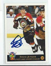 Steve Junker Signed 1994 Classic Pro Prospects Card #193