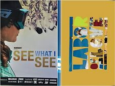 SEE WHAT I SEE and LABOR OF LOVE All-Women snowboard DVD 2-pack winter sports