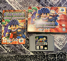 Goemon's Great Adventure Original Authentic With Box/Manual and Tested