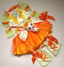 Heart Catch PreCure Cure Sunshine Girl Kids Costume combine save ship Japan Used