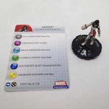 Heroclix Giant Size X-Men set Karima #105 Limited Edition figure w/card!