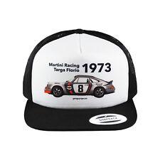 1973 Martini Racing Porsche (Targa Florio) Baseball Cap, Trucker Hat
