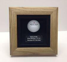 "Golf Ball  Display / Presentation Case. "" Hole In One """