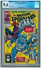 Amazing Spider-Man (1st Series) #351 CGC 9.6 WHITE Nova Tri-Sentinel app
