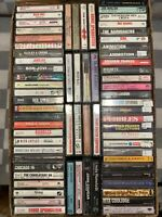 (69 Cassette Lot) Soup Dragons Cars Chicago Squeeze Hootie Joel Air Supply Dion