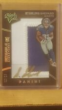 Sterling Shepard 2016 Panini Black Gold Sizeable Signatures #10/99 Giants WR